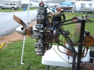 model radial engine