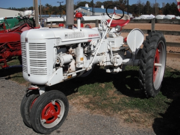 Farmall White Demonstrator tractor