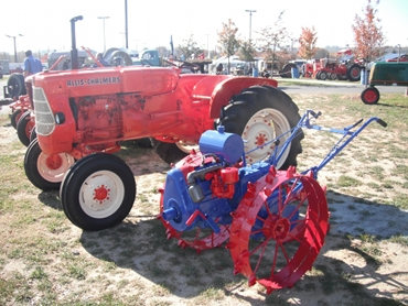 Allis Chalmers and Walking Tractor